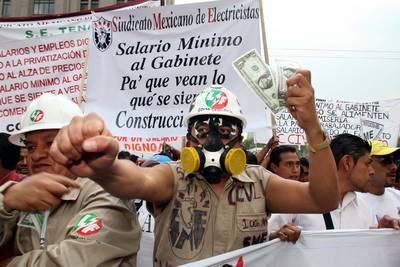 EN DEFENSA DEL SALARIO Y LOGROS SOCIALES