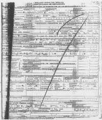 Copia del certificado de defunción de Ernestina Ascensión Rosario, expedido por médicos legistas de la Secretaría de Salud de Veracruz