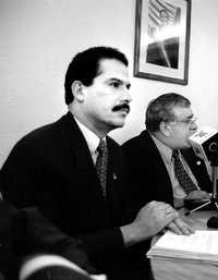 El ex presidente municipal panista Alejandro Gamiño Palacios