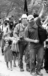 Indígenas zapatistas sufren los embates de la Opddic en varias comunidades del municipio autónomo Olga Isabel