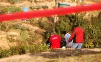 Imagen de archivo de la exhumación de la indígena Ernestina Ascensión Rosario, realizada el 8 de marzo en el panteón de Tetlatzinga, Veracruz