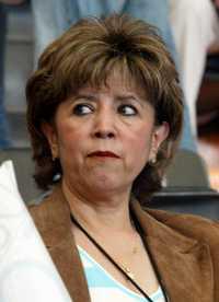 La panista Carmen Segura Rangel, ex coordinadora general de Protección Civil, en imagen de 2006