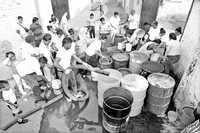 Falta de agua, el eterno problema de los habitantes de Iztapalapa, Distrito Federal