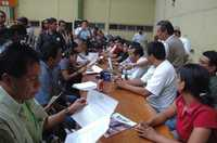 Integrantes de la Asamblea Popular de los Pueblos de Oaxaca anunciaron marchas y plantones en la entidad