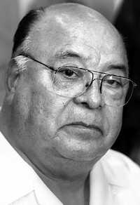 A Alberto Juárez Blancas sólo la muerte lo pudo despojar del poder en la CROC