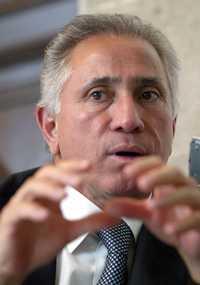 Joel Ayala es el líder desde hace nueve años de la Federación de Sindicatos al Servicio del Estado