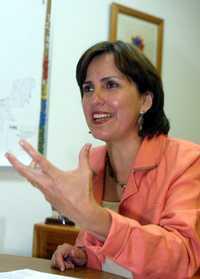 Patricia Mercado, en imagen de archivo