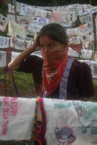 Muchos de los detenidos son niños y niñas zapatistas. La imagen corresponde a La Realidad, en julio pasado