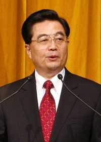 Foto: El presidente de China, Hu Jintao, durante su discurso ante los integrantes de la APEC, el pasado 6 de septiembre