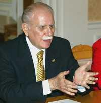 Imagen de archivo del ex vicepresidente venezolano José Vicente Rangel