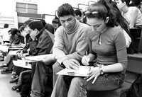 Según cifras oficiales, sólo 10 instituciones de educación superior concentran 40 por ciento de los jóvenes inscritos en ese nivel educativo