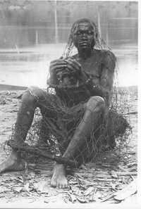 Esclavo listo para ser vendido, a finales del siglo XIX