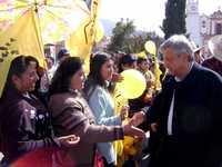 López Obrador ayer en Atlacomulco