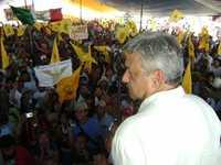 Mitin de Andrés Manuel López Obrador en Naucalpan, estado de México
