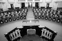 La ALDF se abstuvo de aprobar un acuerdo que exhortaría a diputados federales a crear una comisión que investigue a Mouriño. La imagen pertenece a la sala de sesiones de la Asamblea