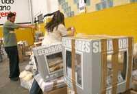 Votación perredista en Morelia, el pasado domingo