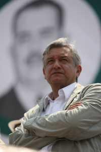 Andrés Manuel López Obrador, ayer
