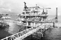 La plataformas de la sonda de Campeche