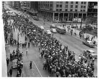 El Movimiento Revolucionario del Magisterio realizó tres congresos Congresos de Masas y marchas multitudinarias