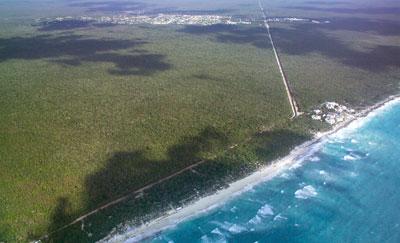 Megadesarrollo amenaza la ecología de Tulum