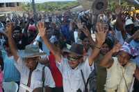 Opositores al proyecto hidroeléctrico de La Parota celebraron el primer aniversario de la asamblea en la que decidieron rechazar la construcción de la presa