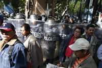 Marcha de maestros de la CNTE a la Suprema Corte