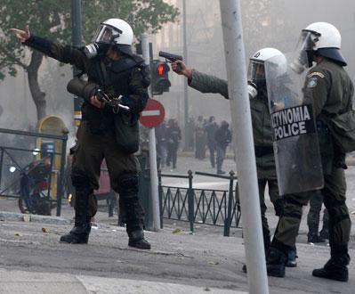 Se extiende la revuelta en Grecia