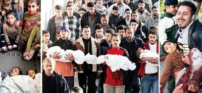 La invasión a Gaza cobra más vidas de niños