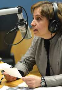 """Carmen Aristegui se congratuló de finalizar el """"ayuno involuntario"""" que la alejó de la radiodifusión"""