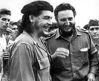 Con Fidel Castro, en La Habana