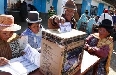 Triunfa en Bolivia el sí a la nueva Constitución