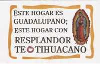 Ésta es la propaganda difundida entre los habitantes de Teotihuacán y sus alrededores para hacer proselitismo en favor del proyecto de luz y sonido que impulsa el gobierno del estado de México