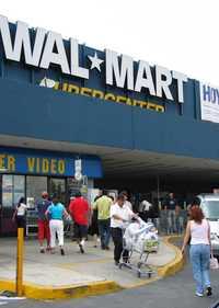 Tienda de Wal-Mart en la delegación Alvaro Obregón