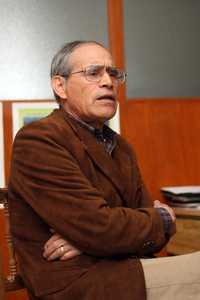 El agrónomo Edmundo García Moya