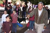 Andrés Manuel López Obrador en Banámichi, Sonora