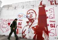Propaganda en favor del sí en Caracas