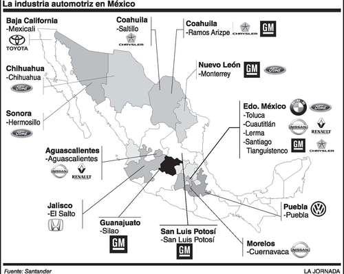 Plantas automotrices en chihuahua