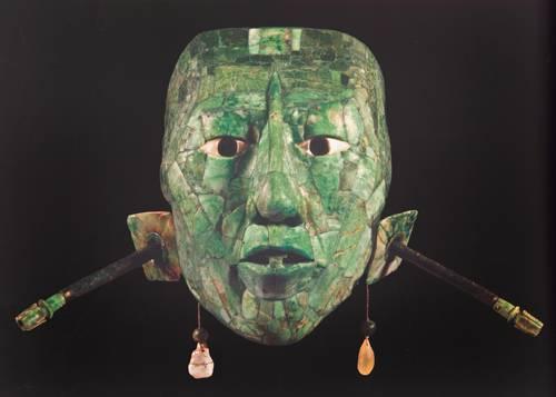 Mayas Mascaras de Jade Máscara de Jade Incluida en la