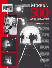 Mineria 500 años de saqueo
