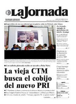 La Jornada Assange La Jornada Ejemplo De Periodismo Sin