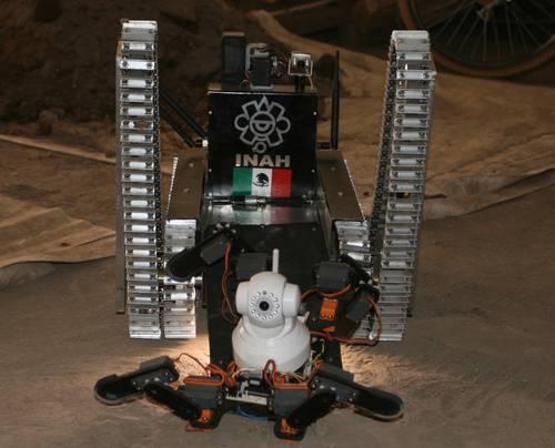La Jornada El Robot Tl 225 Loc Ii Tc Detecta Tres C 225 Maras En