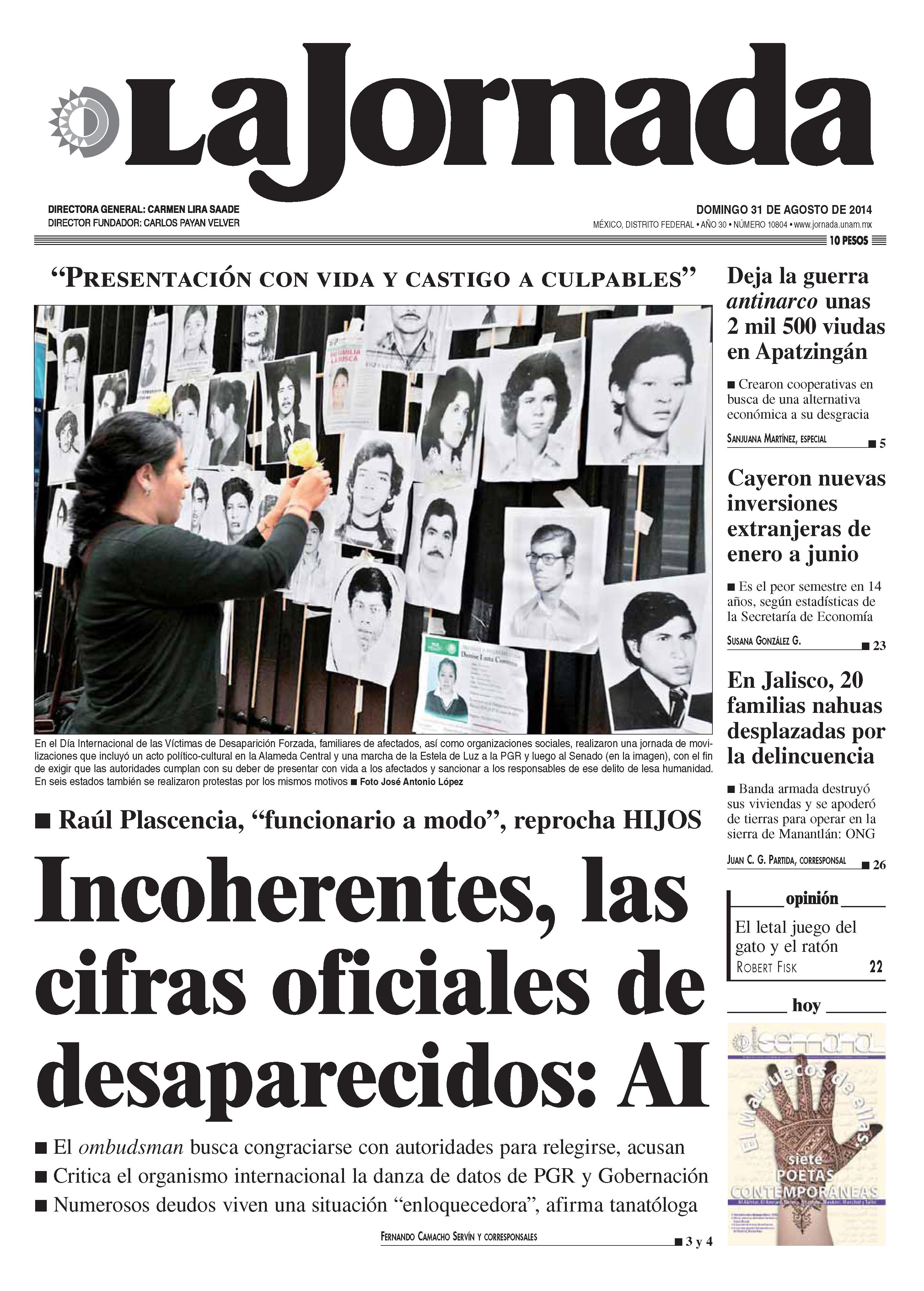 La jornada en apatzing n el narco ha dejado m s de 2 mil for Noticias de hoy espectaculos