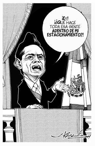 El Grito en el Zócalo - Hernández