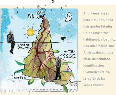 Eduardo Galeano escribir en el siglo del viento