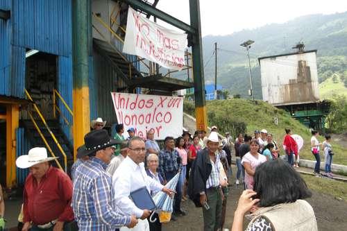 Expansión de minera divide a los pobladores de Tlanchinol