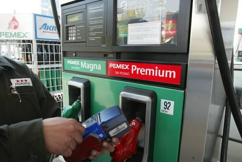 El litro de la gasolina en berline