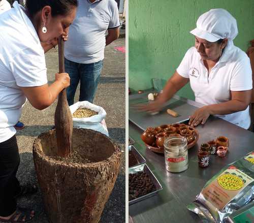 """Mujeres de San Bartolo """"hacen comunidad"""" por medio del café"""