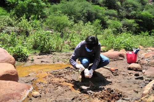 Contaminado con arsénico, terreno donde harán presa para Guanajuato