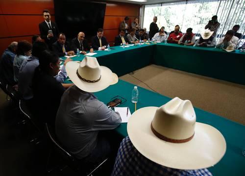 Piden campesinos más presupuesto y cancelar las concesiones mineras