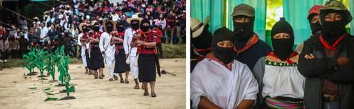 Lanzarán EZLN y CNI candidata indígena independiente para 2018